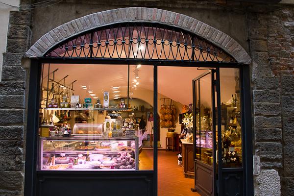 Boutiques gastronomiques - Bergamo, Lombardie, Italie