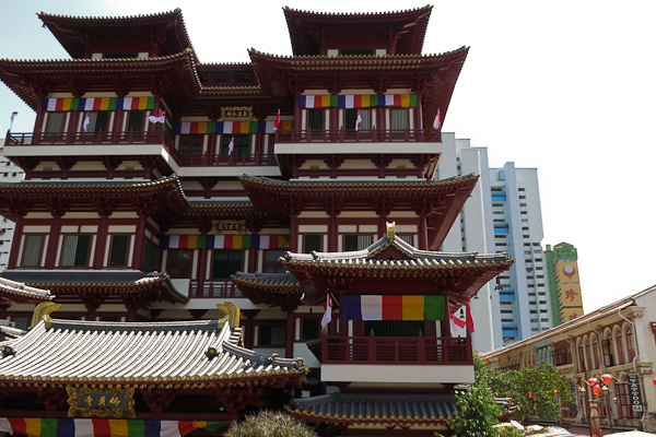 Buddha Tooth Relic Temple - Chinatown, Singapour