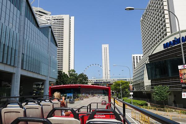 Bus hop on hop off à Singapour