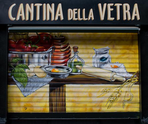 Cantina della Vetra - Art de rue - Milan, Italie