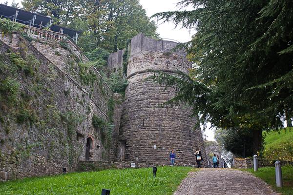 Castello di San Vigilio - Bergamo, Lombardie, Italie