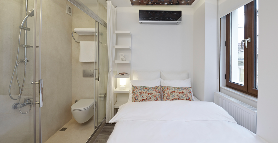 Chambres privées du Bunk Beyoglu Hostel - Istanbul, Turquie (photo du site)