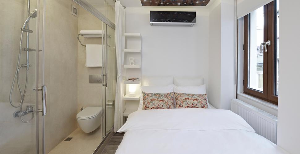 Chambres privées du Bunk Beyoglu Hostel - Istanbul, Turquie (photo du site)