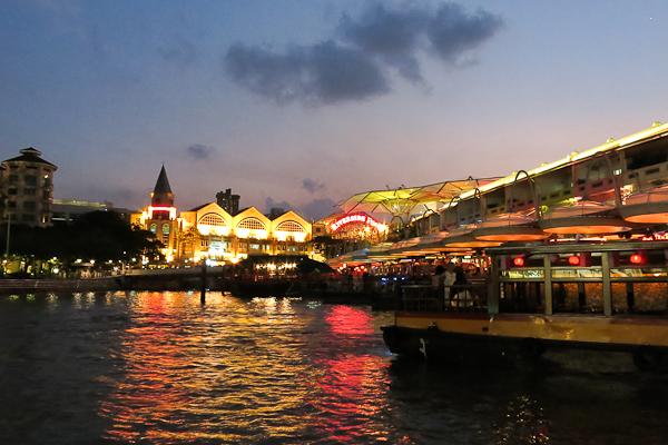 Clarke's Quay - Singapour