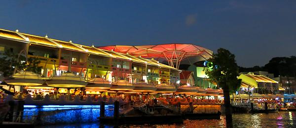 Cocktails et bars à Clarke's Quay - Singapour