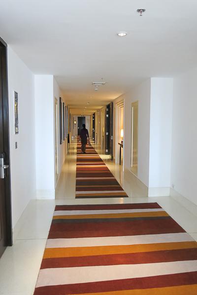 Couloir - Park Hyatt Siem Reap, Cambodge