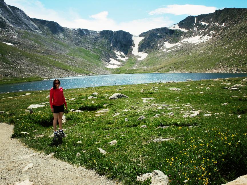 Echo Lake Mont Evans Colorado