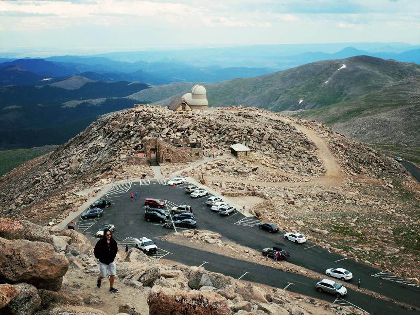 Mont Evans Colorado