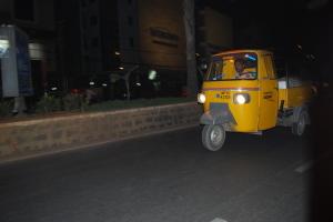 Rickshaw en vue