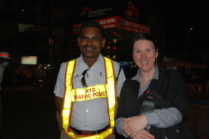 Le policier et moi