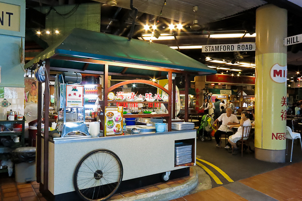 Hawker centre - Singapore Flyer - Singapour
