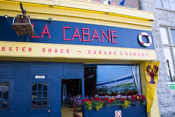 La Cabane Lobster Shack - Québec City