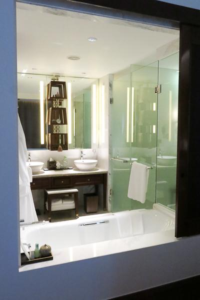 La salle de bains - Park Hyatt Siem Reap, Cambodge