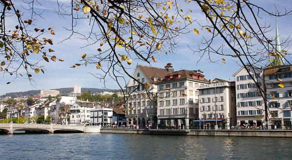 L'automne en ville - Zurich, Suisse