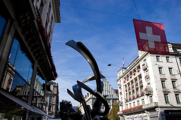 Les grandes artères de Zurich