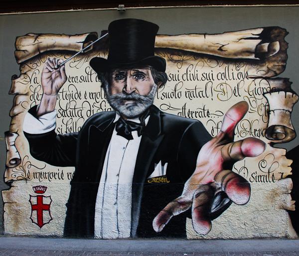 Magicien - Art de rue - Milan, Italie
