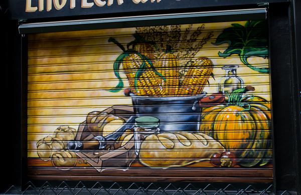 Mais et cuisine - Art de rue - Milan, Italie