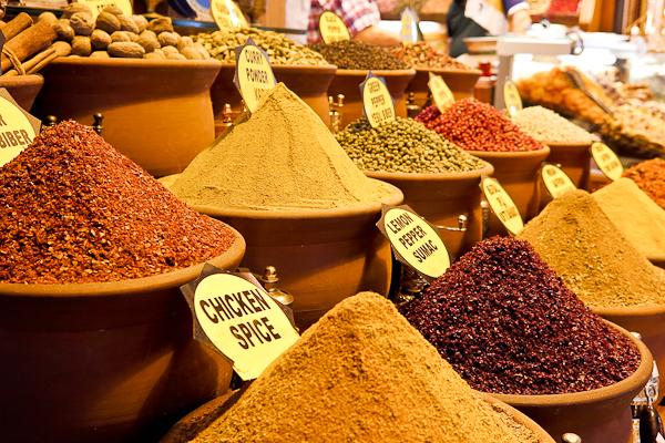 Marché aux épices - Istanbul, Turquie
