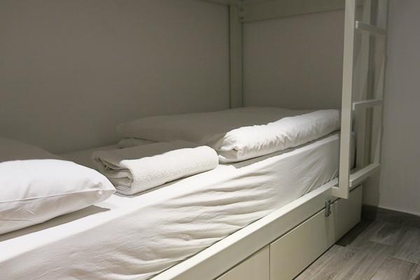 Mon lit au Bunk Hostel - Istanbul, Turquie