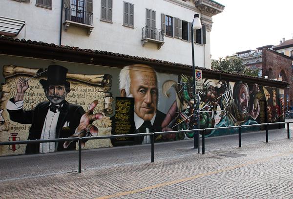 Murale - Art de rue - Milan, Italie