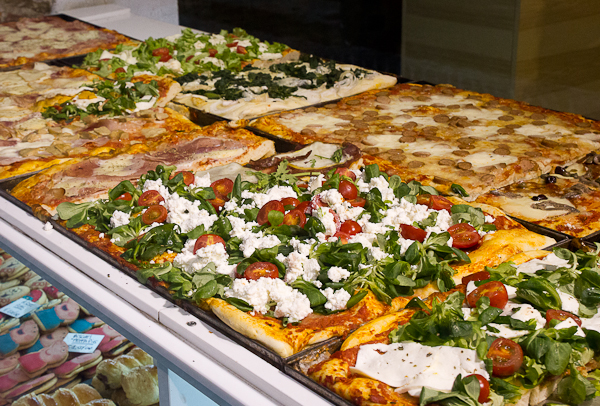 Pizza - Bergamo, Italie, Lombardie