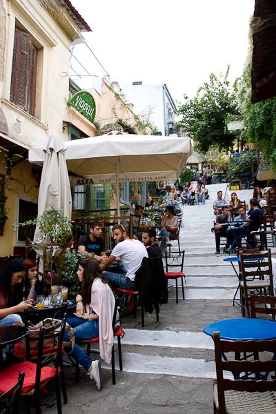 Quartier de Plaka - Athènes, Grèce