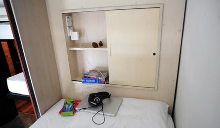 Rangement personnel - Dortoir - BackHome Hostel KL - Kuala Lumpur, Malaisie (photo du site)