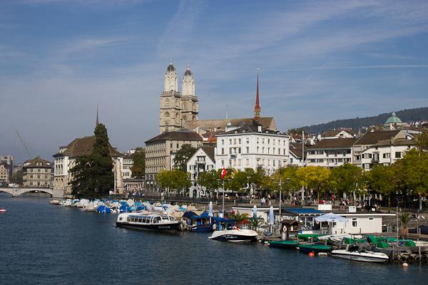 Rive droite - Zurich, Suisse