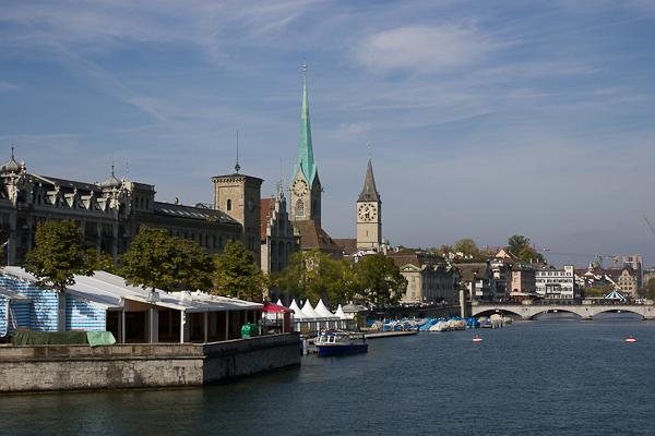 Rive gauche - Zurich, Suisse