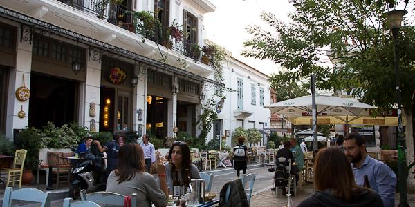Je suis arrivée à Athènes le 15 et ça m'a pris à peu près trois minutes pour tomber amoureuse de cette ville. […]