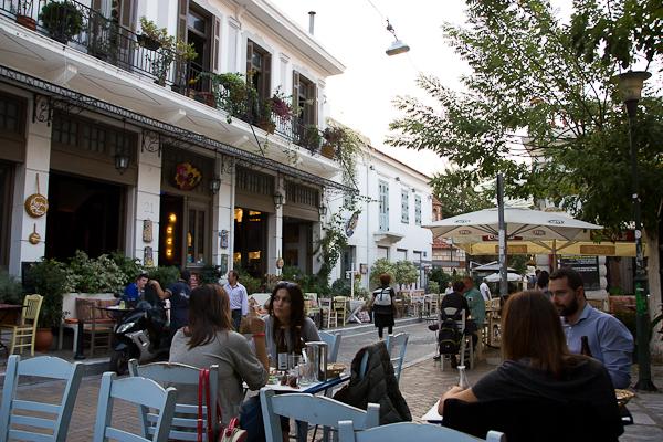 Rues de Psyrri - Athènes, Grèce