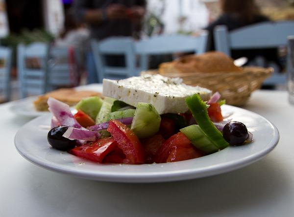 Salade grecque - Athènes, Grèce