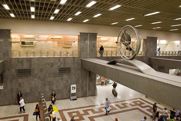Station Syntagma - Athènes, Grèce