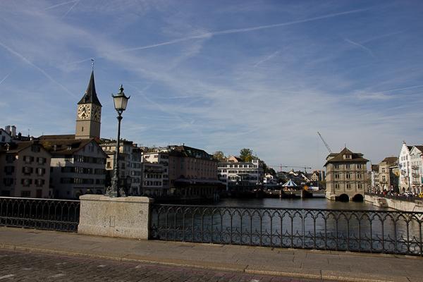 Sur le pont - Zurich, Suisse