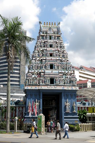 Un temple à Little India, SIngapour