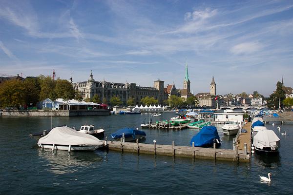 Vue sur la ville de Zurich, Suisse
