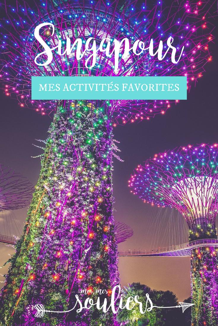 Activités préférées - Quoi faire à Singapour