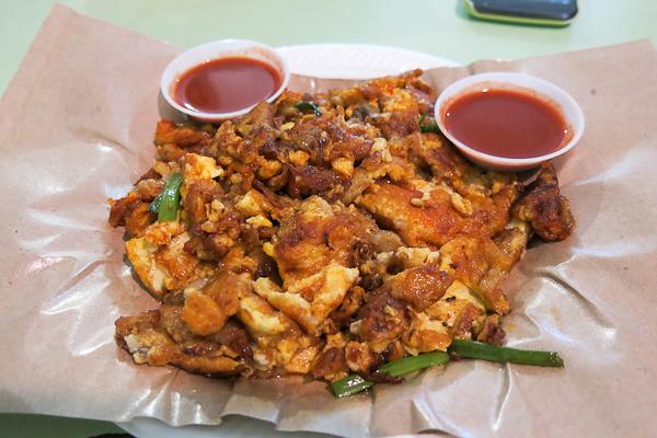omelette aux huîtres (orh lua) - Singapour