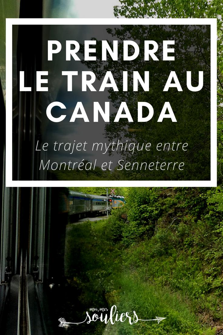 Train Montréal-Senneterre