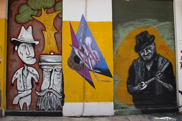 Art de rue - Street art à Athènes, Grèce 11