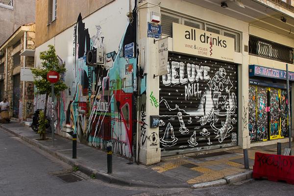 Art de rue - Street art à Athènes, Grèce 14
