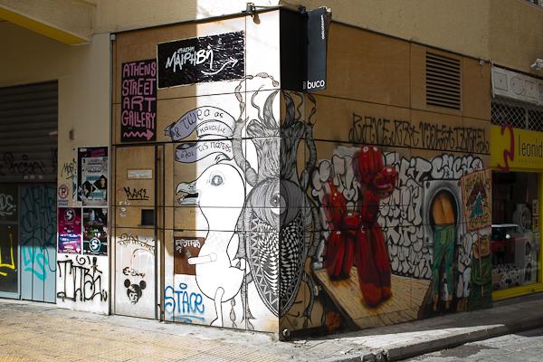 Art de rue - Street art à Athènes, Grèce 16