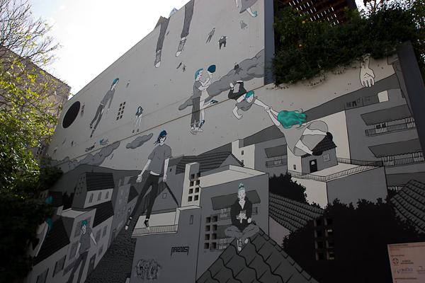 Art de rue - Street art à Athènes, Grèce 17