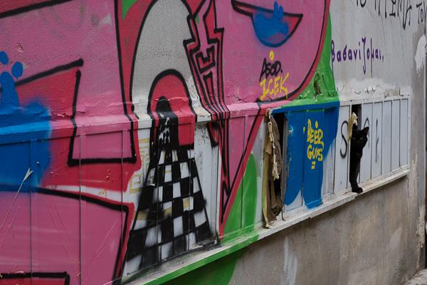 Art de rue - Street art à Athènes, Grèce 19