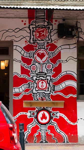 Art de rue - Street art à Athènes, Grèce 21