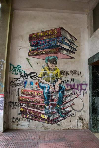 Art de rue - Street art à Athènes, Grèce 22