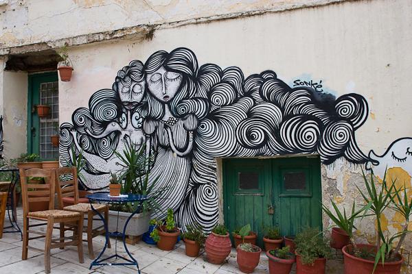 Art de rue - Street art à Athènes, Grèce 25
