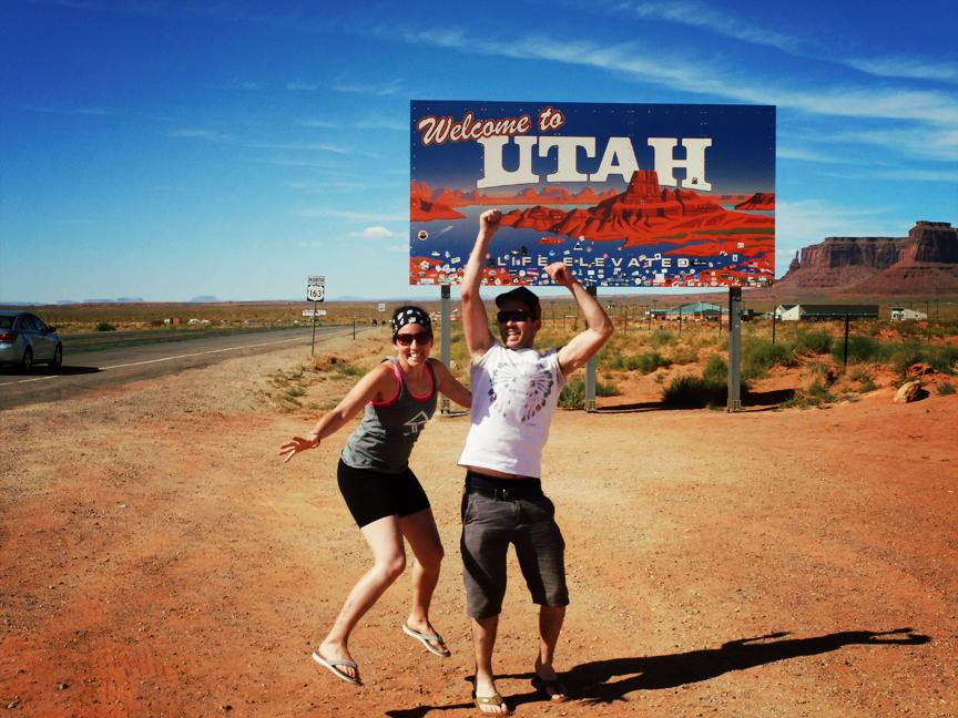 Frontière Arizona / Utah