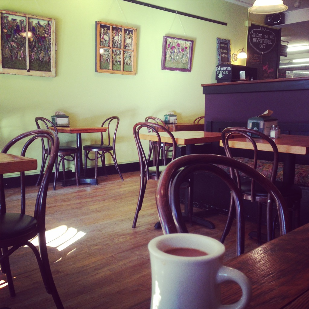 Déjeuner au Montgomery's Cafe à Newport