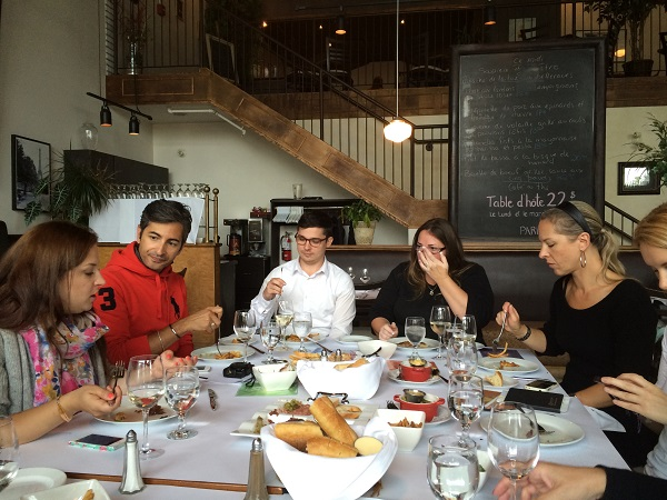 La tablée - Restaurant Le Tire-Bouchon Bistro Parisien